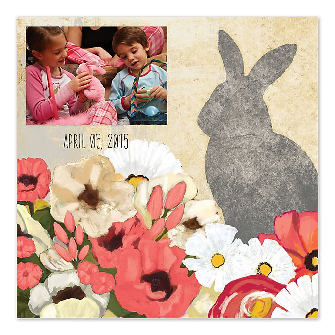 Alternate image 1 for Hoppy Easter Digitally Printed Canvas Wall Art