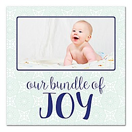 Our Little Bundle of Joy Canvas Wall Art