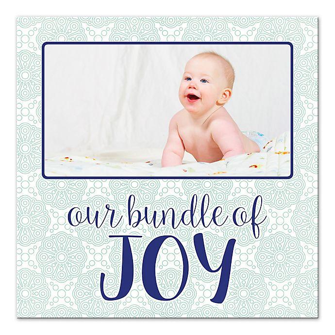 Alternate image 1 for Our Little Bundle of Joy Canvas Wall Art