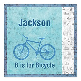 B Is for Bicycle Wall Art