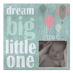 Dream Big Little One Canvas Wall Art