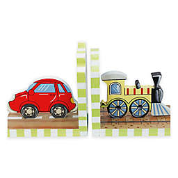 Teamson Fantasy Fields Transportation Bookends Set