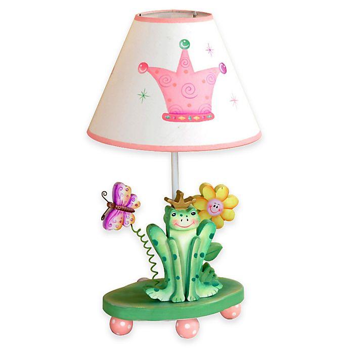 Alternate image 1 for Teamson Fantasy Fields Princess & Frog Kids Table Lamp