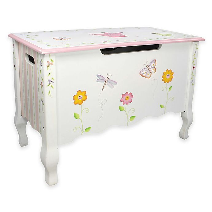Alternate image 1 for Teamson Fantasy Fields Princess & Frog Toy Storage Box