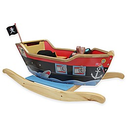 Teamson Kids Fantasy Fields Rocker Pirate Boat