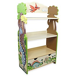 Teamson Kids Fantasy Fields Dinosaur Kingdom Bookcase