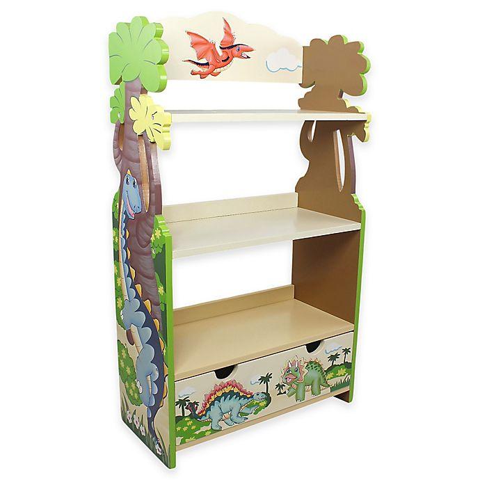 Alternate image 1 for Teamson Kids Fantasy Fields Dinosaur Kingdom Bookcase