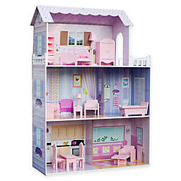 Teamson Kids Fancy Mansion Folding Doll House