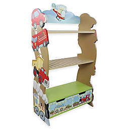 Teamson Fantasy Fields Transportation Kids Bookcase