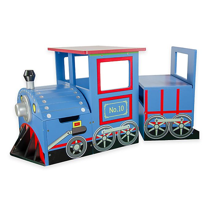 Alternate image 1 for Teamson Kids Train Desk and Chair Set