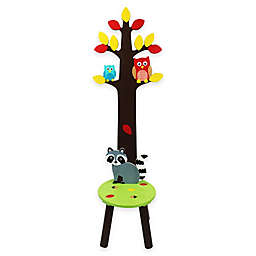 Teamson Fantasy Fields Enchanted Woodland Stool and Coat Tree