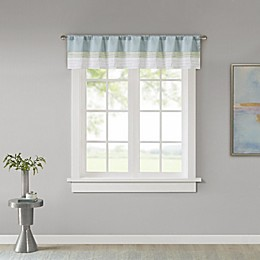 Madison Park Amherst Window Valance in Green