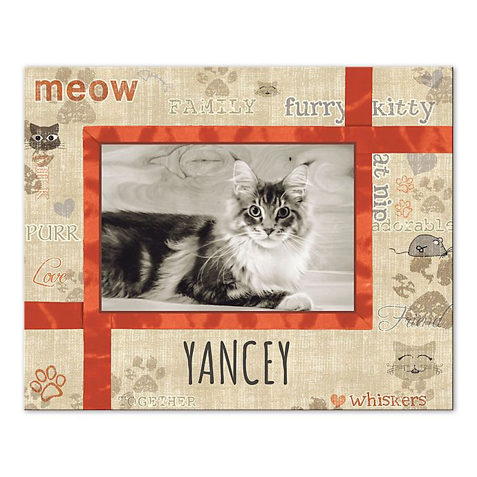 Alternate image 1 for Love Your Cat Canvas Wall Art