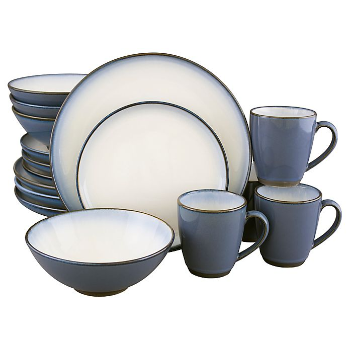 Alternate image 1 for Sango® Concepts 16-Piece Dinnerware Set in Eggplant