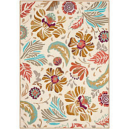 Safavieh Four Seasons 3-Foot 6-Inch x 5-Foot 6-Inch Area Rug in Ivory/Grey