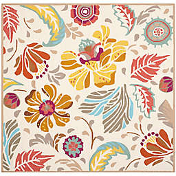 Safavieh Four Seasons 6-Foot x 6-Foot Square Area Rug in Ivory/Grey