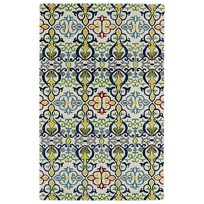 Alternate image 1 for Kaleen Global Inspirations Suzani 3-Foot 6-Inch x 5-Foot 6-Inch Multicolor Area Rug