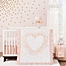 Part of the Lambs & Ivy® Sweetheart Crib Bedding Collection