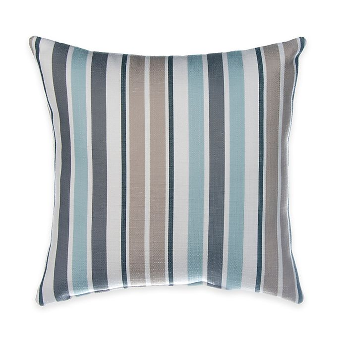 Alternate image 1 for Glenna Jean Luna Square Striped Throw Pillow