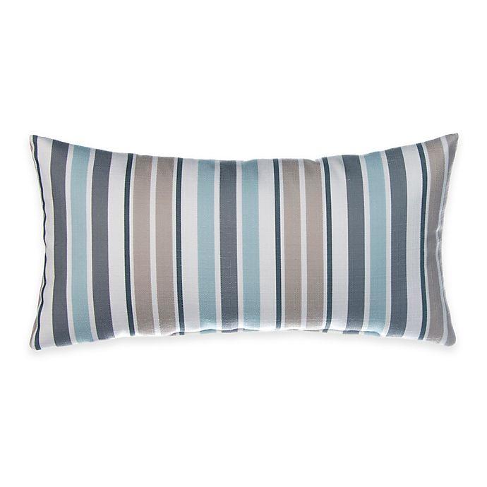 Alternate image 1 for Glenna Jean Luna Rectangular Striped Throw Pillow
