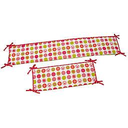 Disney® Minnie's Petal Perfect 4-Piece Traditional Padded Bumper Set