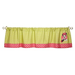 Disney® Minnie's Petal Perfect Appliqued Window Valance