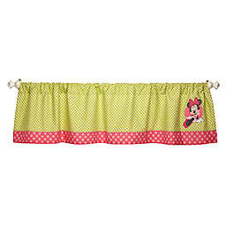 Disney® Minnie's Petal Perfect Appliqued Window Valance