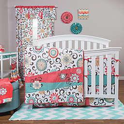 Waverly® Baby by Trend Lab® Pom Pom Play 4-Piece Crib Bedding Set