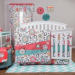 Waverly® Baby by Trend Lab® Pom Pom Play Chevron Fitted Crib Sheet