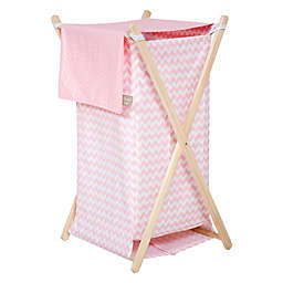 Waverly® Baby by Trend Lab® Pink Sky Hamper