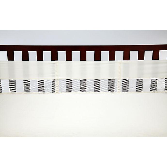 Alternate image 1 for NoJo® Secure-Me Mesh Crib Liner