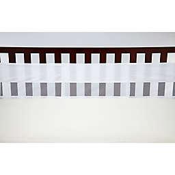 NoJo® Secure-Me Mesh Crib Liner in White