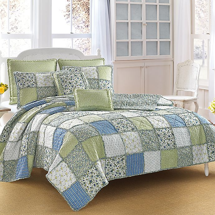 Laura Ashley® Ashelyn Reversible Quilt Collection