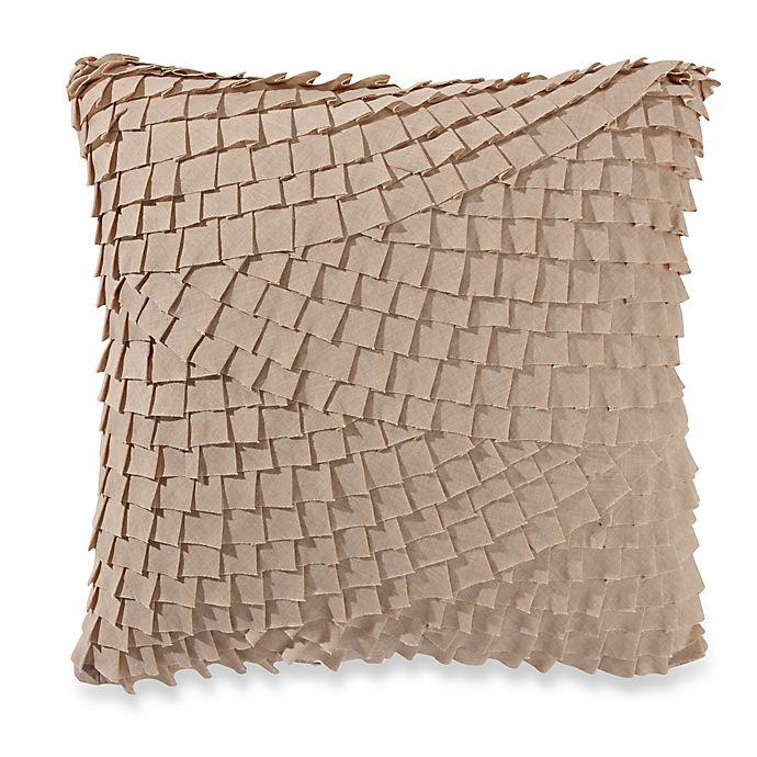 Alternate image 1 for Anthology™ Mina Box Pleat Throw Pillow