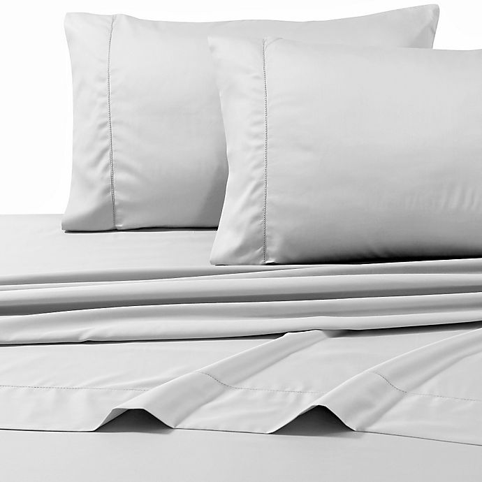 Alternate image 1 for 800-Thread-Count Deep Pocket Queen Sheet Set in Silver