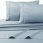 800-Thread-Count Deep Pocket Queen Sheet Set in Blue