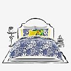kate spade new york Monaco Full/Queen Comforter Set in Cornflower