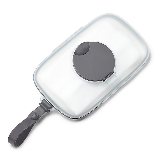 Alternate image 1 for SKIP*HOP® Grab & Go Snug Seal Wipes Case in Grey