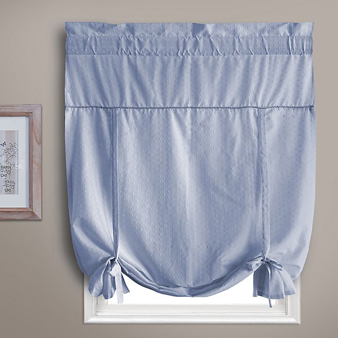 Alternate image 1 for Dorothy Tie-Up Window Shade in Blue