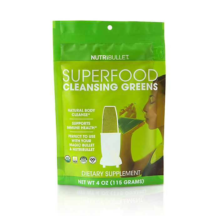 Alternate image 1 for Nutribullet® Superfood Cleansing Greens