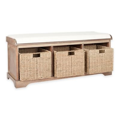 Safavieh Lonan Storage Bench | Bed Bath & Beyond