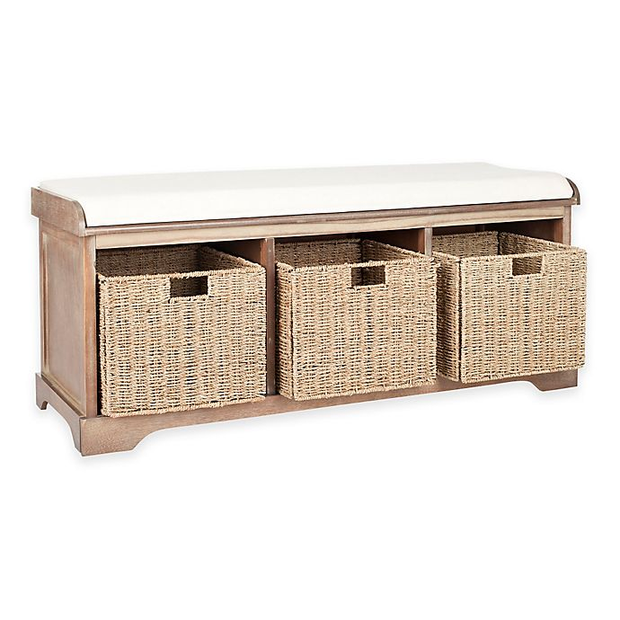 Safavieh Lonan Storage Bench Bed Bath Amp Beyond