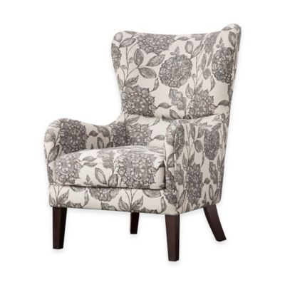 Madison Park Arianna Swoop Wing Chair Bed Bath Amp Beyond