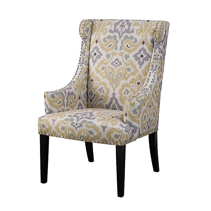 Alternate image 1 for Madison Park Marcel High Back Wing Chair