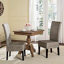 Safavieh Arjun Wicker Dining Chairs (Set of 2)