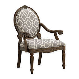 Madison Park™ Brentwood Oval Back Armchair in Grey