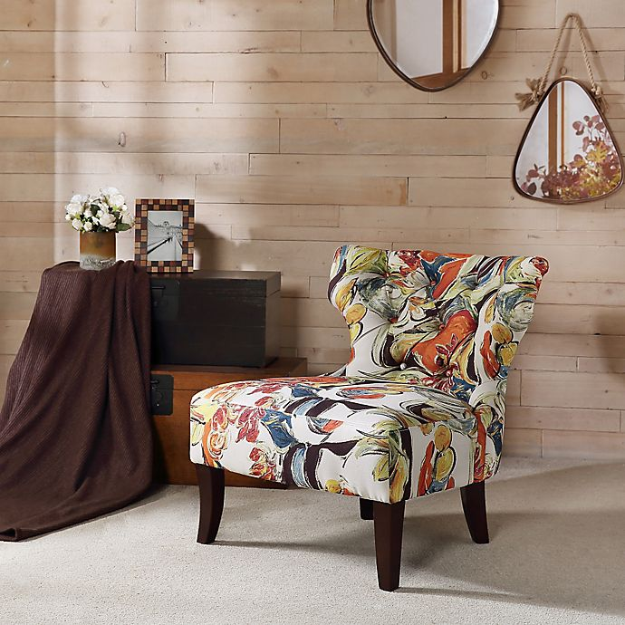 Peachy Madison Park Erika Hourglass Tufted Armless Accent Chair Ocoug Best Dining Table And Chair Ideas Images Ocougorg