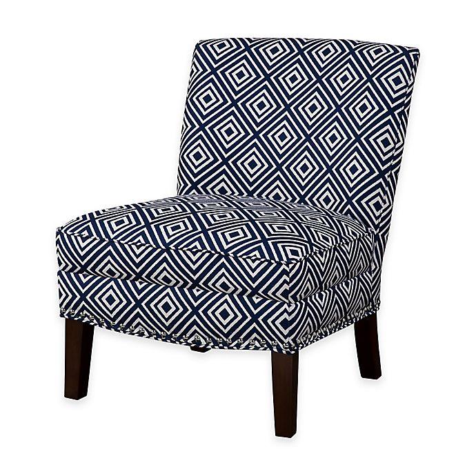 Alternate image 1 for Madison Park Hayden Slipper Accent Chair in Navy