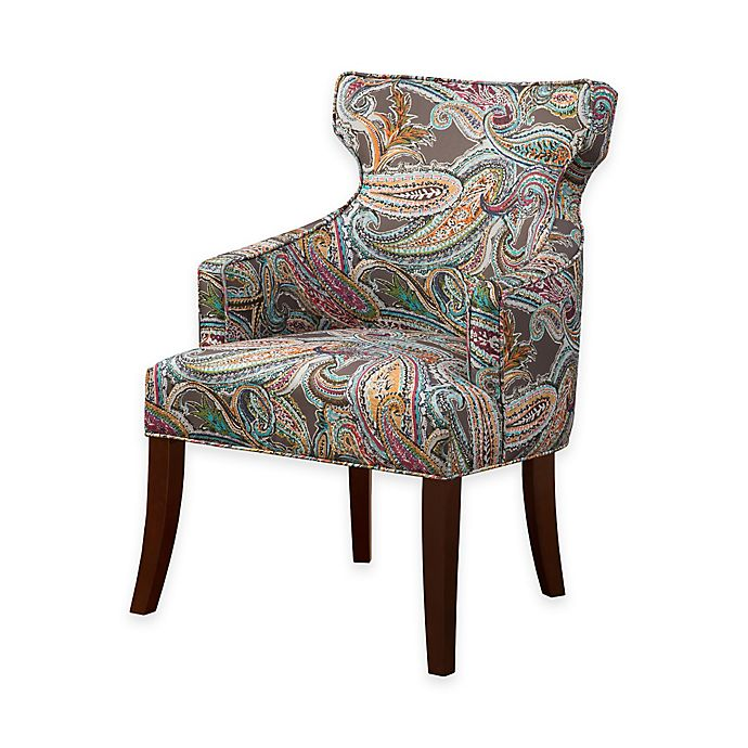 Alternate image 1 for Madison Park Kujawa Notch Back Accent Chair