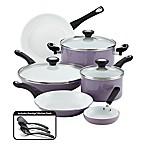 Farberware® PURECOOK™ Ceramic Nonstick 12-Piece Cookware Set in Lavender